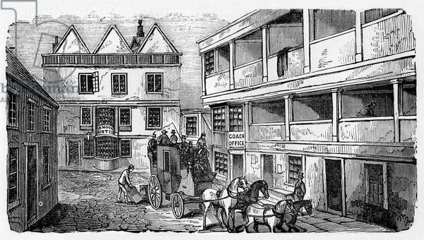 History of British theatre:  inn yard as playhouse