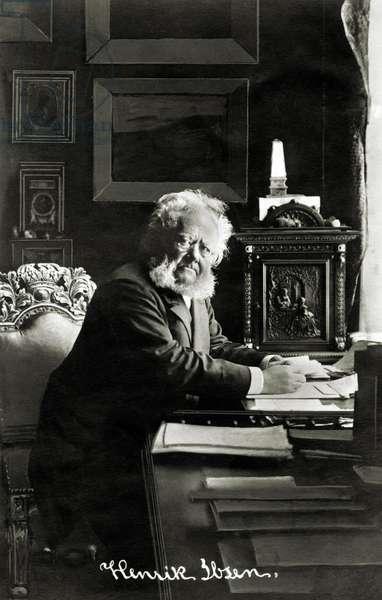 Henrik Ibsen - portrait