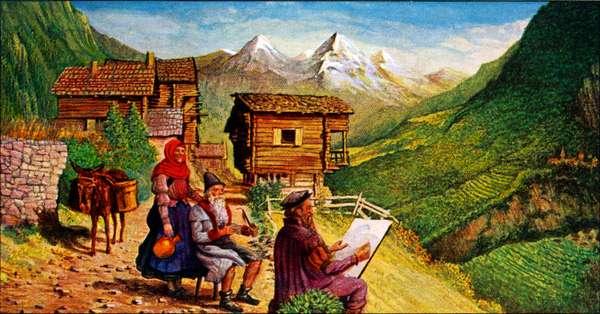 Pieter Bruegel in Italy