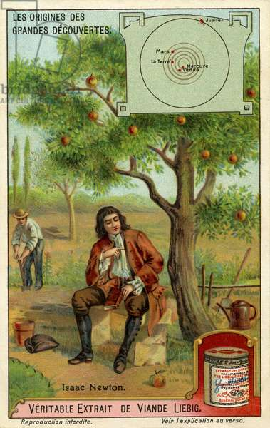 Sir Isaac Newton and the theory of gravity