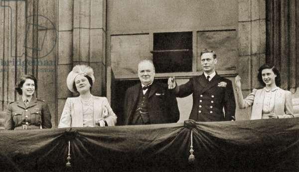 Winston Churchill with Princess