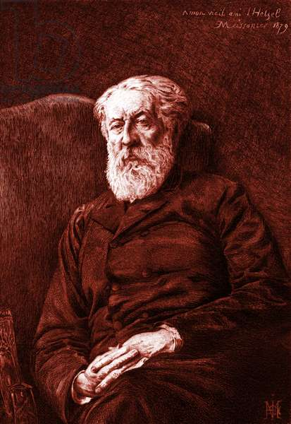 Pierre-Jules Hetzel by Meissonier