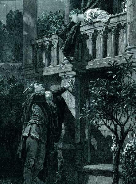 William Shakespeare 's play  Romeo and Juliet. Act II, Scene 2
