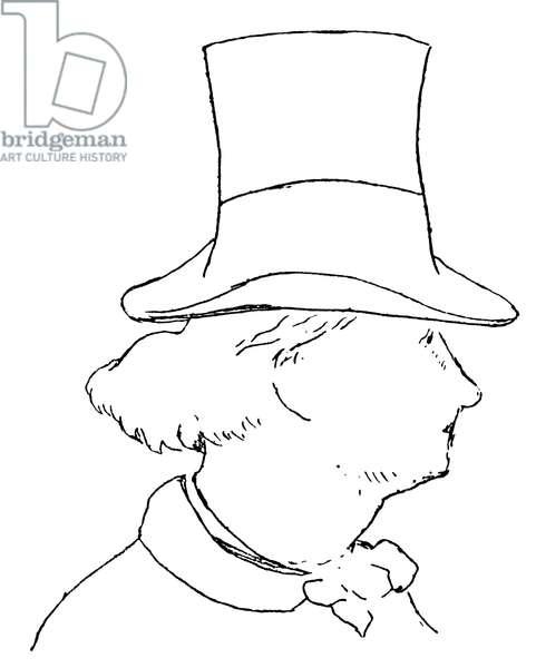 Charles Baudelaire - portrait