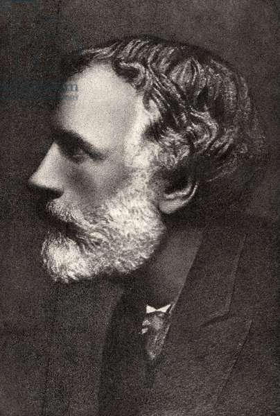 George Meredith portrait
