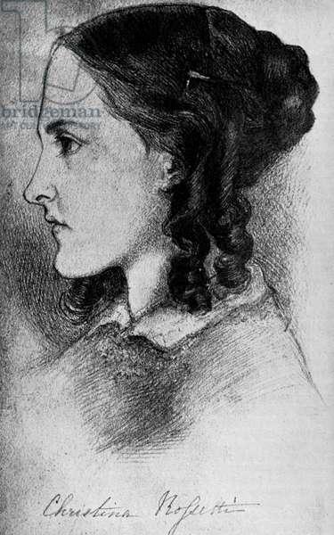 Christina Rossetti - portrait