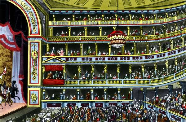 Interior of Theater an