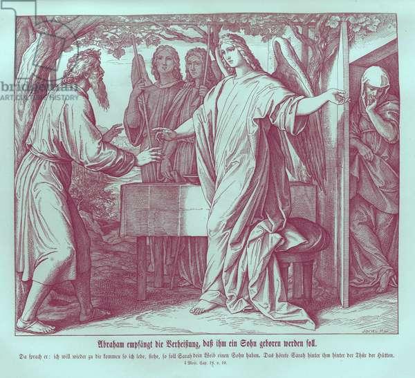 Abraham hears that Sarah will bear a son, Genesis