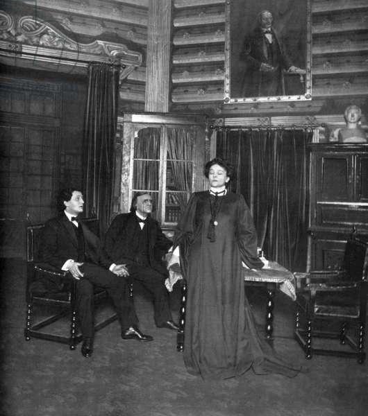 Eleonora Duse as Rebecca