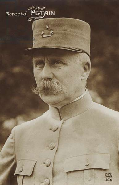 Marshal Pétain in uniform
