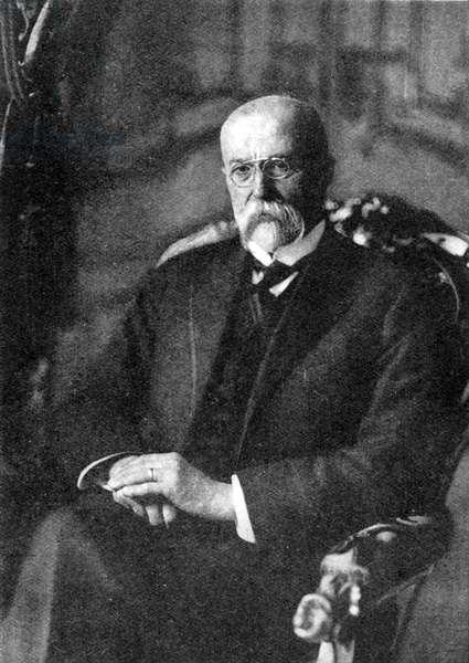 Tomas Masaryk - portrait
