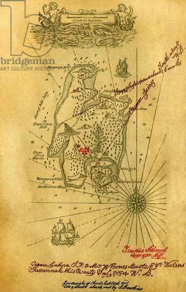 Chart of the Treasure Island