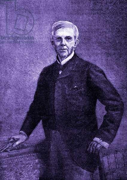 Oliver Wendell Holmes - portrait