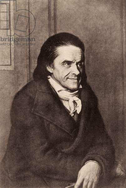 Johann Pestalozzi - portrait