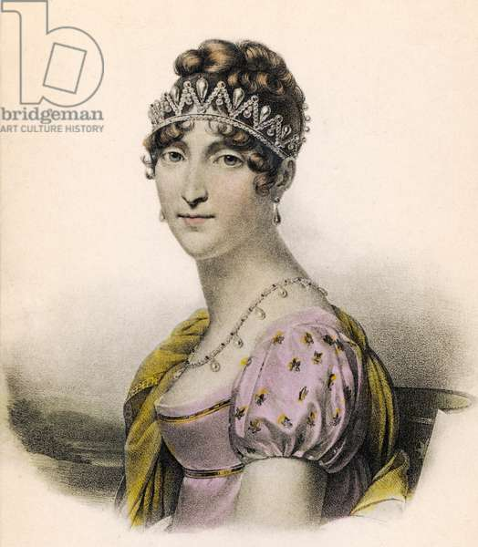Queen Hortense - portrait