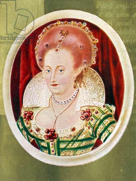 Anne of Denmark Potrait