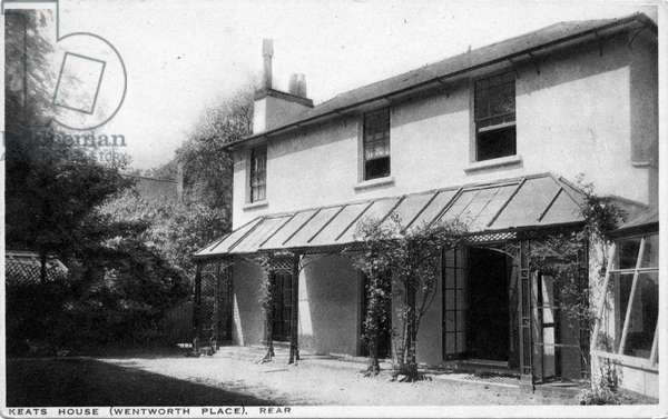 Keat 's House (Wentworth Place) - rear view
