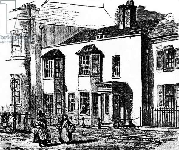 Samuel Johnson's residence at