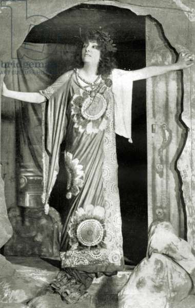 Sarah Bernhardt - portrait
