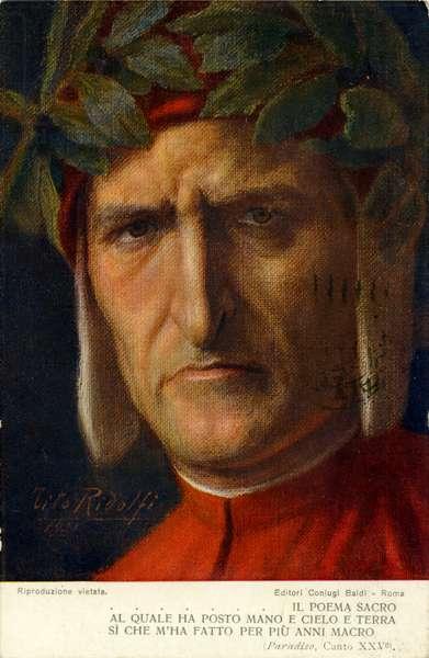 Paradiso (Divine Comedy) by Dante - illustration