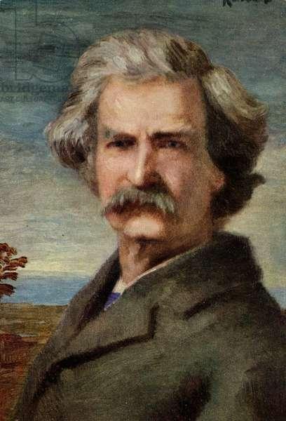 Mark Twain - portrait