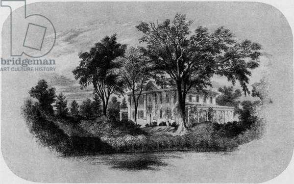 Henry Wadsworth Longfellow's house -