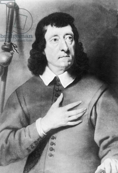 John Milton - portrait
