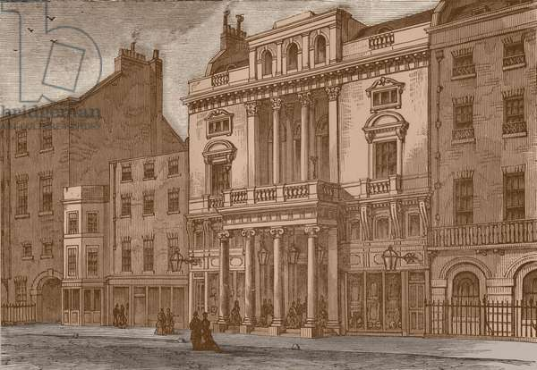 Exterior of St James's Theatre, London