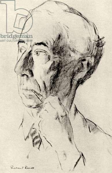 Bertrand Russell - portrait