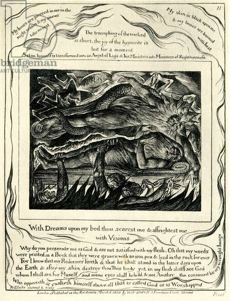 The Book of Job illustrated by William Blake