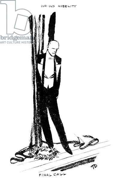 John Galsworthy - caricature