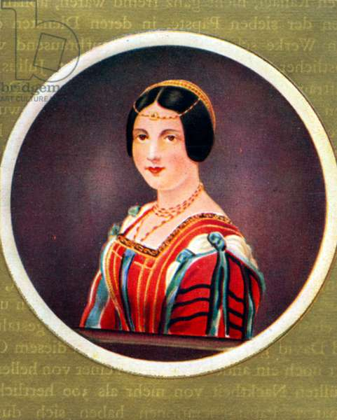 Lucrezia Crivelli Portrait