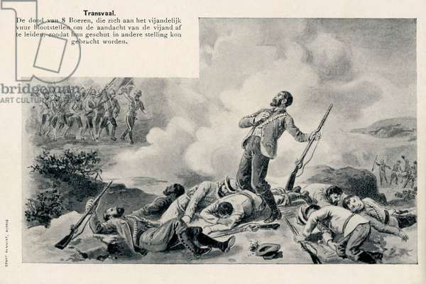 Death of Eight Boer Soldiers