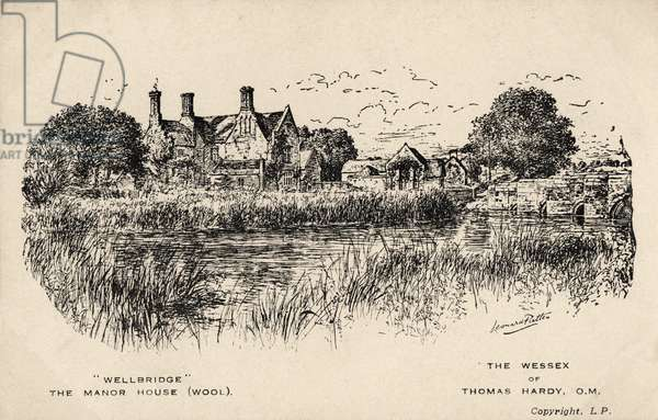 Thomas Hardy landscape Wellbridge