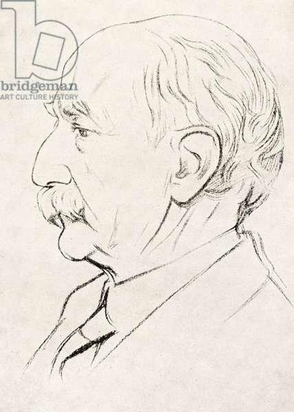 Thomas Hardy portrait English