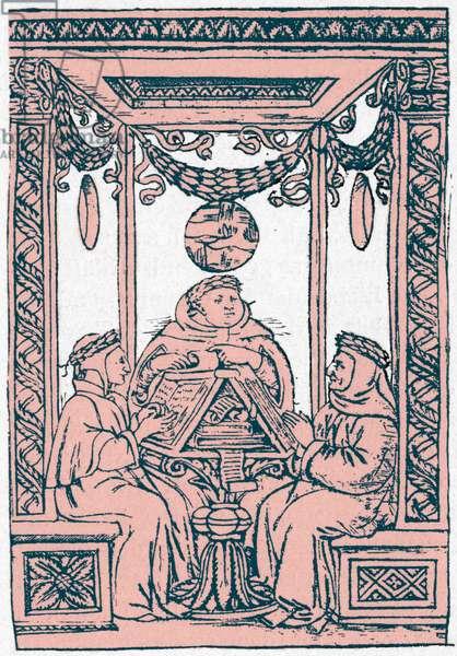 Dante Boccaccio and Petrarch