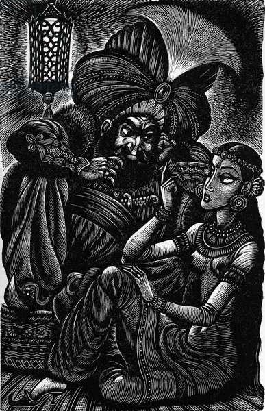 Scheherazade, by Edgar Allan Poe