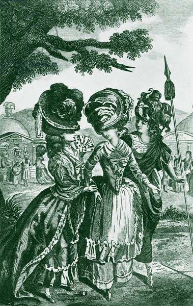 The Lady's Magazine frontispiece 1780
