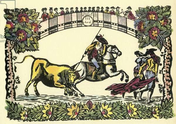 Spanish Bullfight  toreador