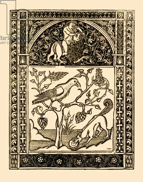 Aesop 's fables: The Fox and The Crow.