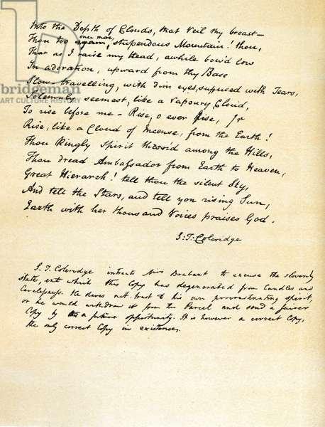 Samuel Taylor Coleridge -