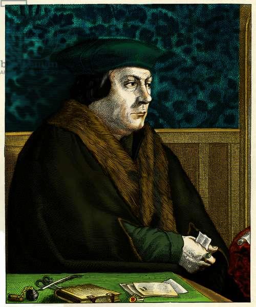 Thomas Cromwell engraving English