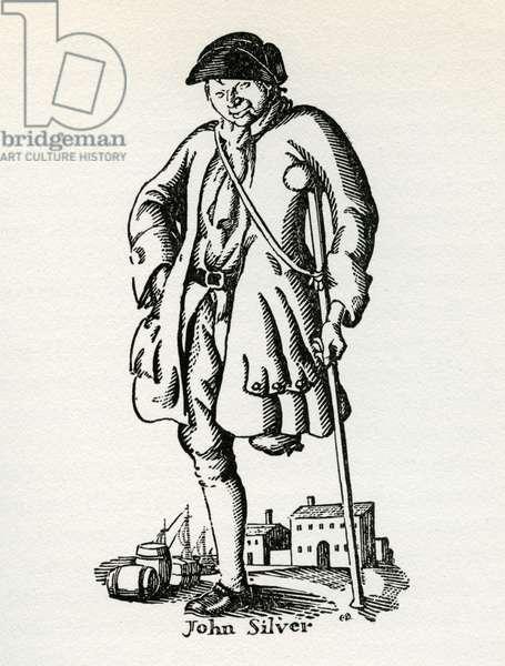 Robert Louis Stevenson 's Treasure Island, 1927 (lithograph)