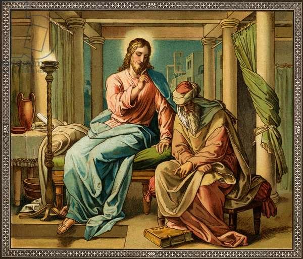 Jesus and Nicodemus - New Testament, Bible