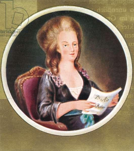 Marie Antoinette Portrait of
