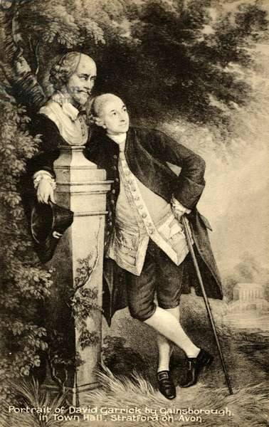 David Garrick by Gainsborough