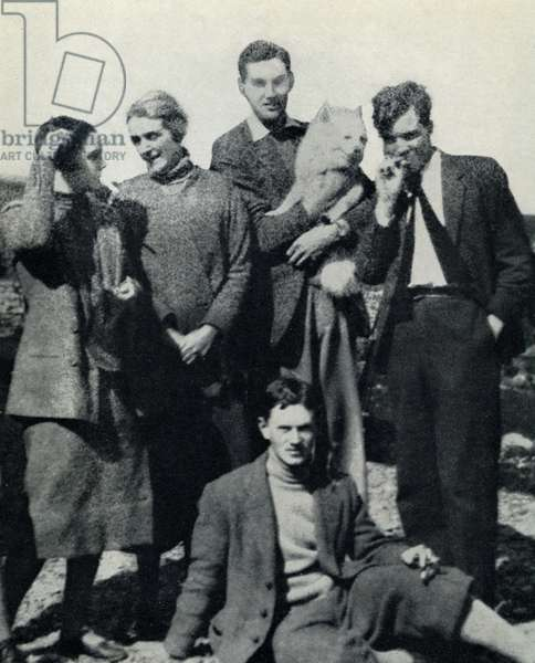 Evelyn Waugh and friends