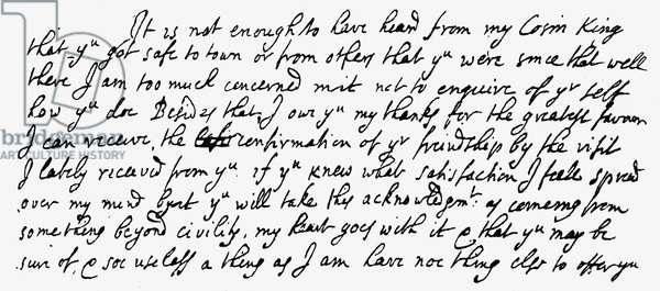 Letter from John Locke