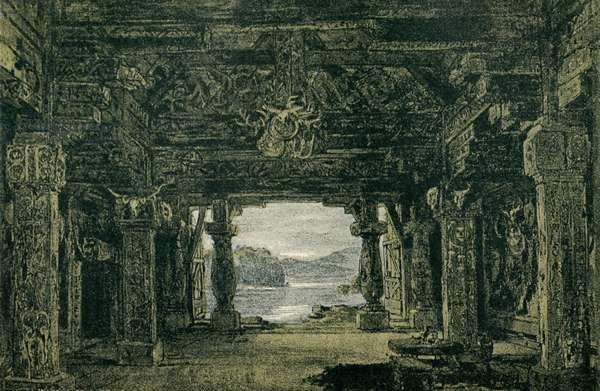 Richard Wagner 's Götterdämmerung Act I