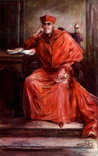 Henry Irving as 'Cardinal Wolsey'